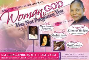 BreakThrough Ministries Woman's Conference 2014