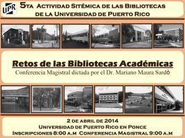 Actividad Sistémica de Bibliotecas 2014