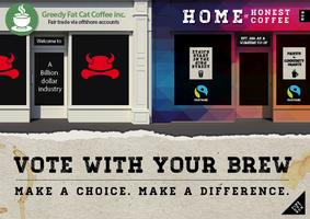 (Cancelled due to illness) Home of Honest Coffee -