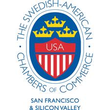 The Swedish-American Chamber of Commerce in San Francisco & Silicon Valley logo