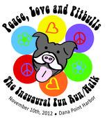 Peace, Love, & Pit Bulls Inaugural Fun Run/Walk
