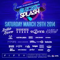Electric Splash Rooftop Pool Party