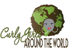 Curly Girls Around The World  logo