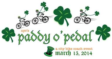 3rd Annual Paddy O'Pedal St. Patrick's Day Ride