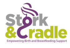 Stork and Cradle logo