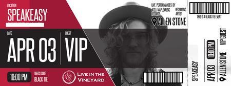 Live in the Vineyards + NVL INK present ALLEN STONE...