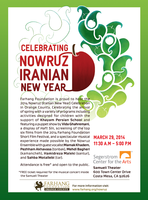 2014 Nowruz Celebration in Orange County Musical Concert -...