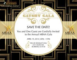 MBA Association Gatsby Gala