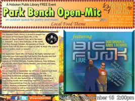 "Park Bench Open-Mic with Funk-Jazz Band ""Big Funk"" +..."