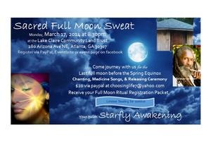 Full Moon Sacred Sweat