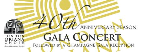 London Oriana 40th Anniversary Gala Concert