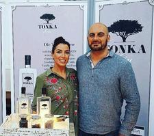 "Tonka Gin ""Das Tasting"" logo"