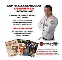 Dave Camarillo's Guerrilla Jiu-Jitsu Seminar