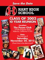 Hart High School Class of 2002 - 10 Year Reunion