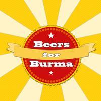Beers for Burma