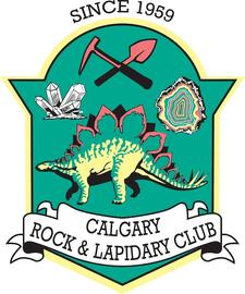 Calgary Rock and Lapidary Club logo