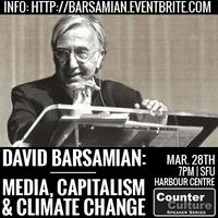 David Barsamian: 'Media, Capitalism, and Climate...