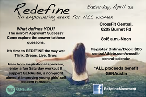 REDEFINE: An Event for Women
