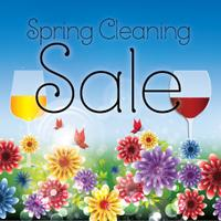 Wine Tasting and Spring Cleaning Sale