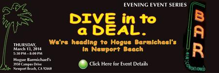 ACG OC presents Dive Into A Deal! - March 13, 2014