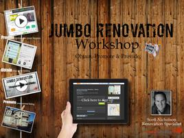 Jumbo Renovation Workshop - Obtain, Promote & Provide