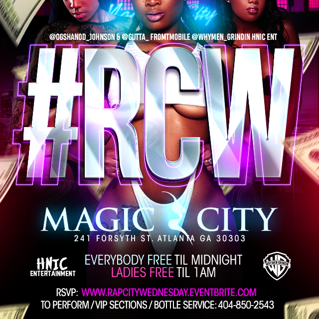 MAGIC CITY RAP CITY WEDS