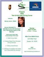 FREE Teen & Adult Safe Driving Course