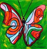 Sip n' Paint Butterfly Sunday, July 13th, 5:00pm