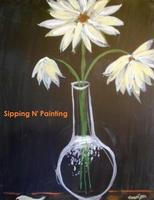 Sip n' Paint Daisies Sunday, July 27th, 5:00pm