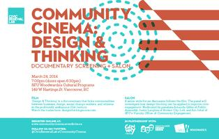 Community Cinema: Design & Thinking Documentary...