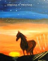 Sip n' Paint Stallion Wednesday, August 27th, 6:00pm