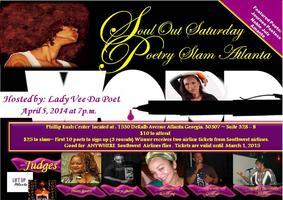 Soul Out Saturday Poetry Slam Atlanta