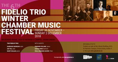 Fidelio Trio Winter Chamber Music Festival 2018