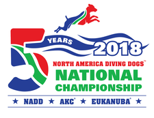 North American Diving Dogs logo