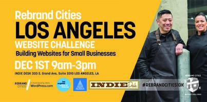 Rebrand Cities - Los Angeles Website Challenge