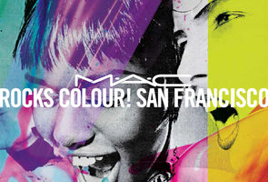 M•A•C ROCKS COLOUR SAN FRANCISCO