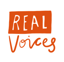 Real Voices logo
