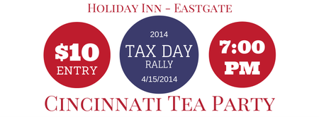 Cincinnati Tea Party 2014 Tax Day Rally