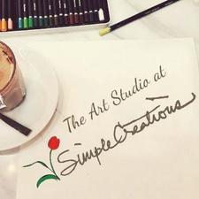 The Art Studio @ Simple Creations  logo