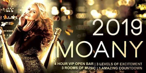 M.O.A.N.Y. San Francisco NYE | New Year's Eve Countdown to 2019