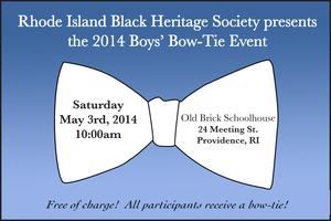 RIBHS Boys' Bow-Tie Event