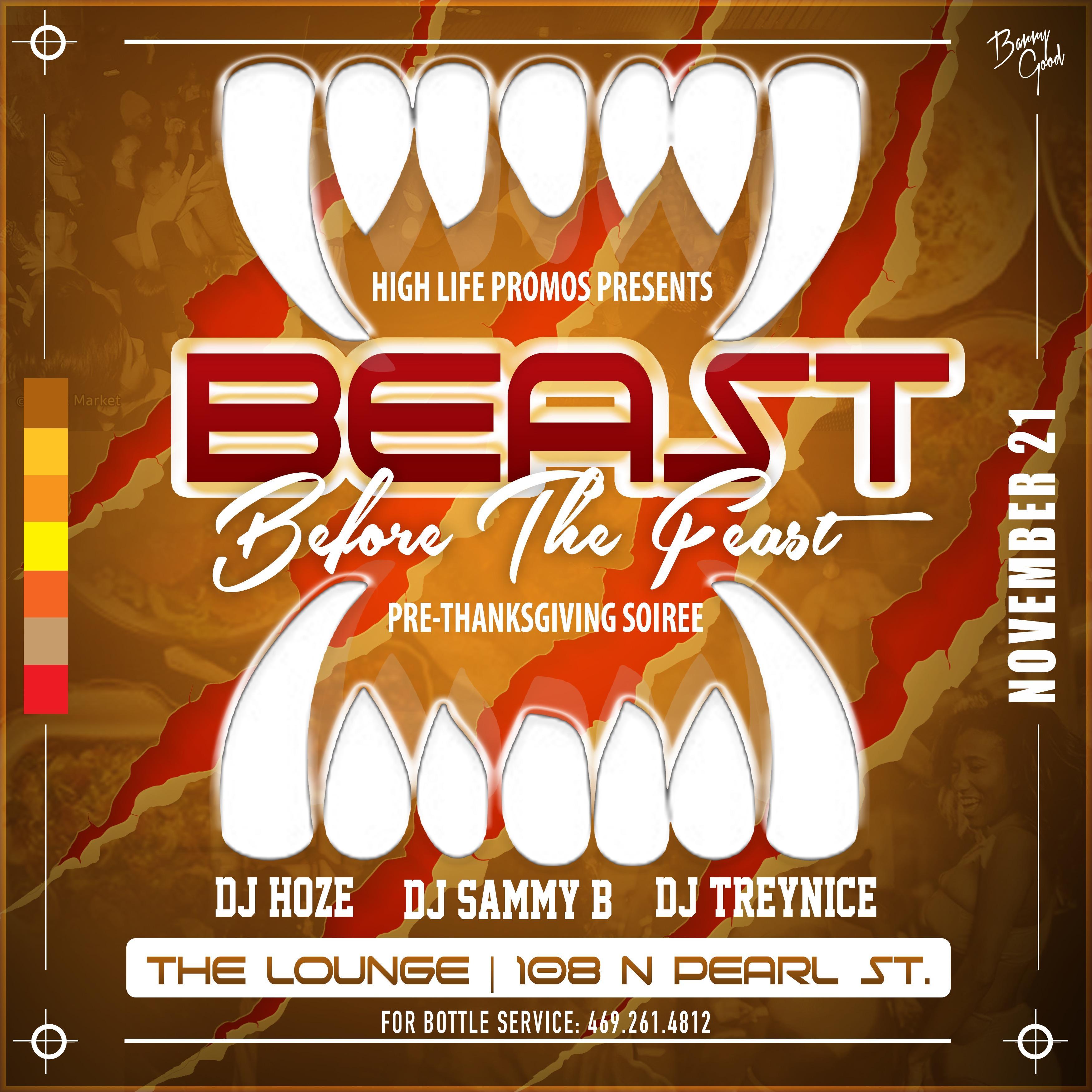 BeastBeforeTheFeast