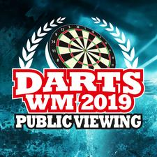 Public Viewing der Darts WM logo