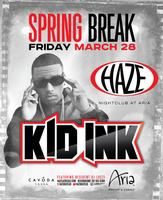 Kid Ink Performs Live @ HAZE Nightclub
