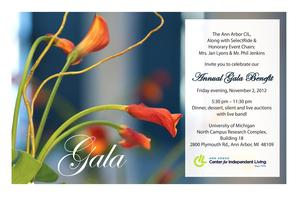 Ann Arbor CIL Gala Benefit & Live Auction