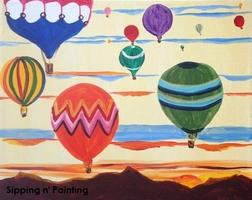 Sip n' Paint Up In The Air Thursday, July 17th, 6:00pm