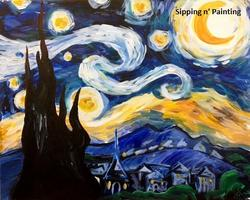 Sip n' Paint Starry Night Thursday, August 28th, 6:00pm