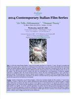 """Contemporary Italian Film Series: """"La Bella..."""