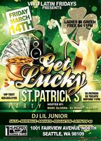 GET LUCKY ST. PATRICKS PARTY