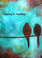 Sip n' Paint You Go First Saturday, August 9th, 4:00pm